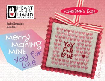 Heart in Hand - Yay For Love Merry Making Mini