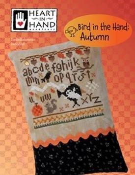 Heart in Hand - Autumn Bird in the Hand