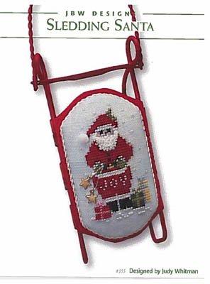 JBW Designs - Sledding Santa