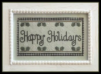 Country Cottage - Happy Holidays