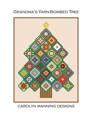 CM Designs - Grandma's Yarnbombed Tree