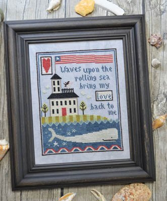 Annie Beez Folk Art - Widow's Walk