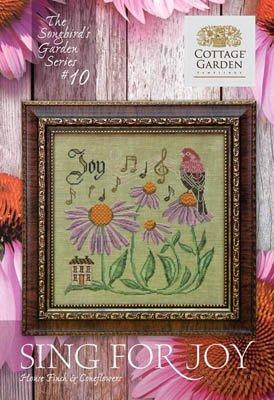 Cottage Garden Samplings - Sing For Joy (Songbird Garden series)