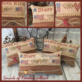 Mani di Donna - Sounds of Freedom Pillows