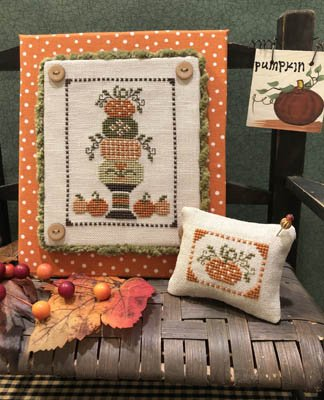 ScissorTail Designs - Pumpkin Topiary