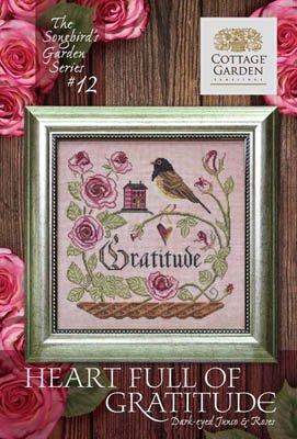 Cottage Garden Samplings - Heart Full Of Gratitude (Songbird Garden series)
