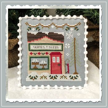 Country Cottage - Skate and Sled Shop, Snow Village
