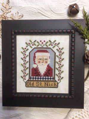 Annie Beez Folk Art - Old St. Nick
