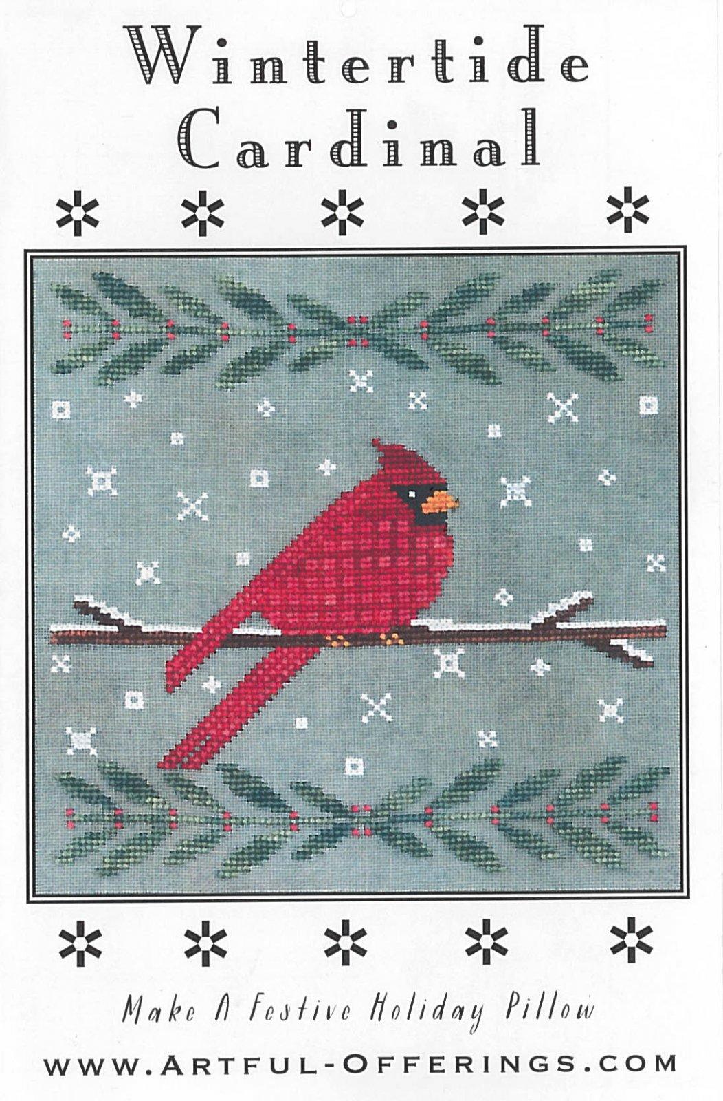 Artful Offerings - Wintertide Cardinal