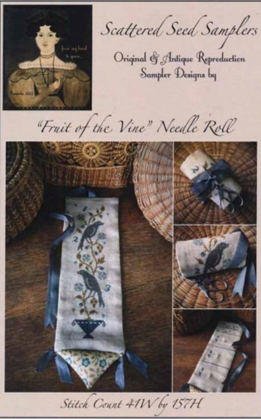 Scattered Seeds Samplers - Fruit of the Vine Needleroll