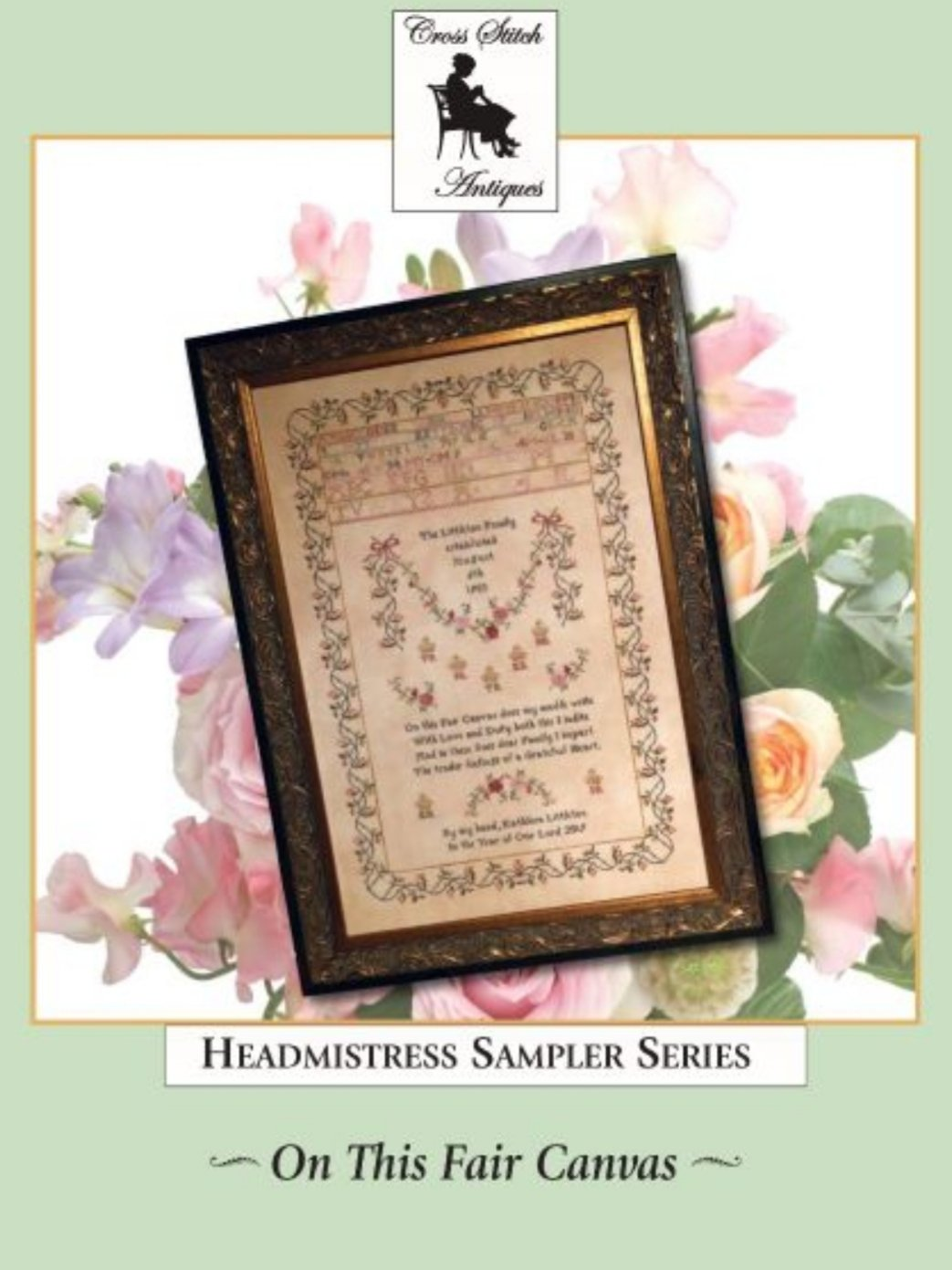Cross Stitch Antiques - On This Fair Canvas