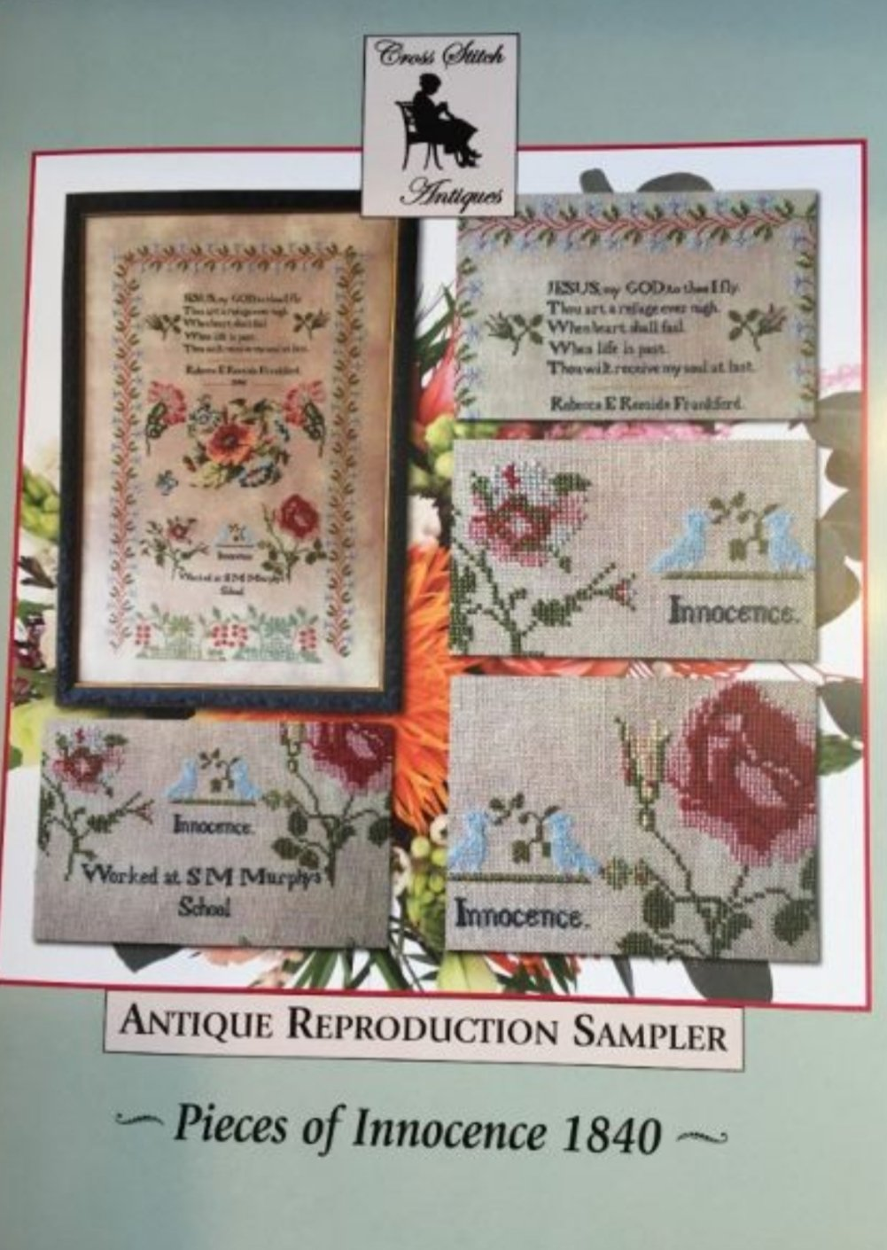 Cross Stitch Antiques - Pieces of Innocence 1840
