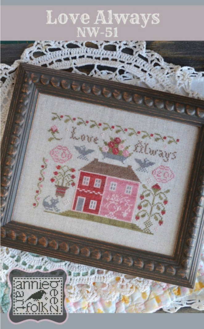 Annie Beez Folk Art - Love Always