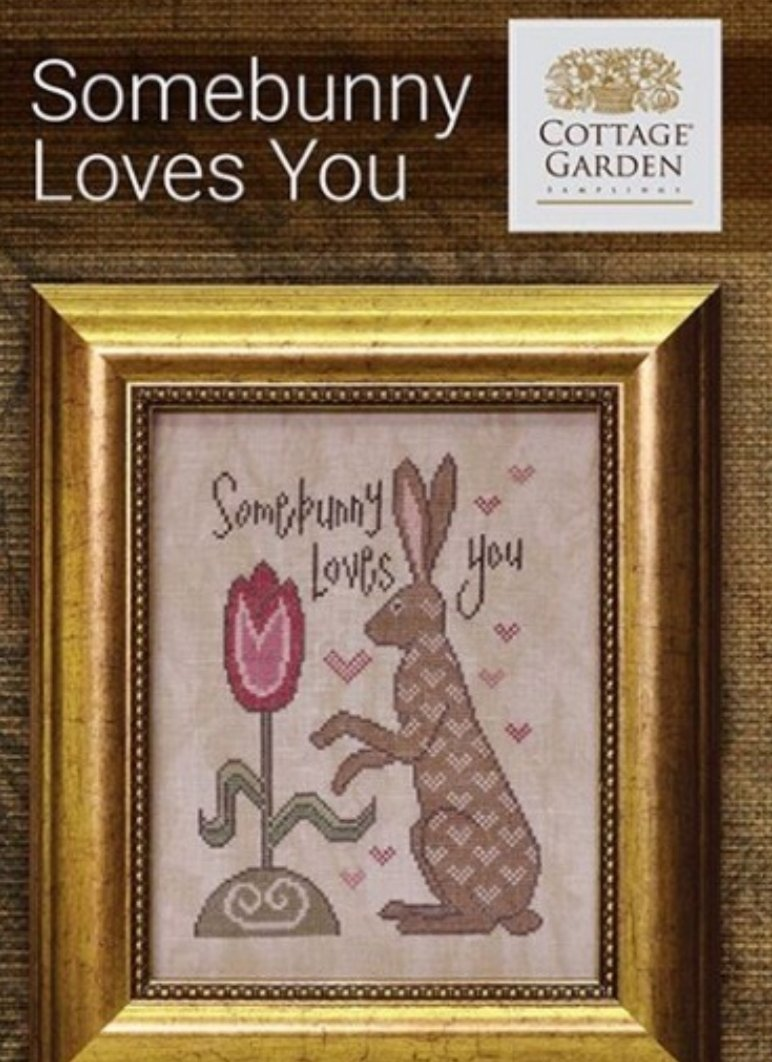 Cottage Garden Samplings - Somebunny Loves You