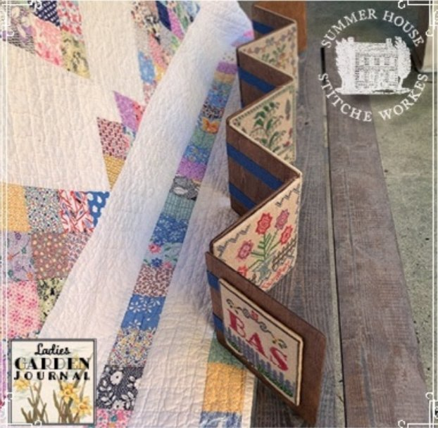 Summer House - Ladies Garden Journal Finishing Kit