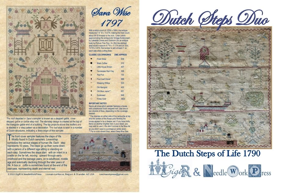 NeedleWorkPress - The Dutch Steps of Life 1790