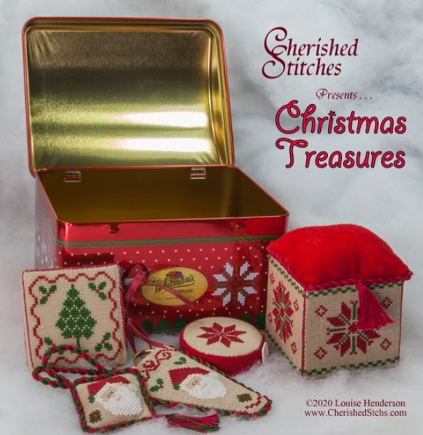 Cherished Stitches - Christmas Treasures