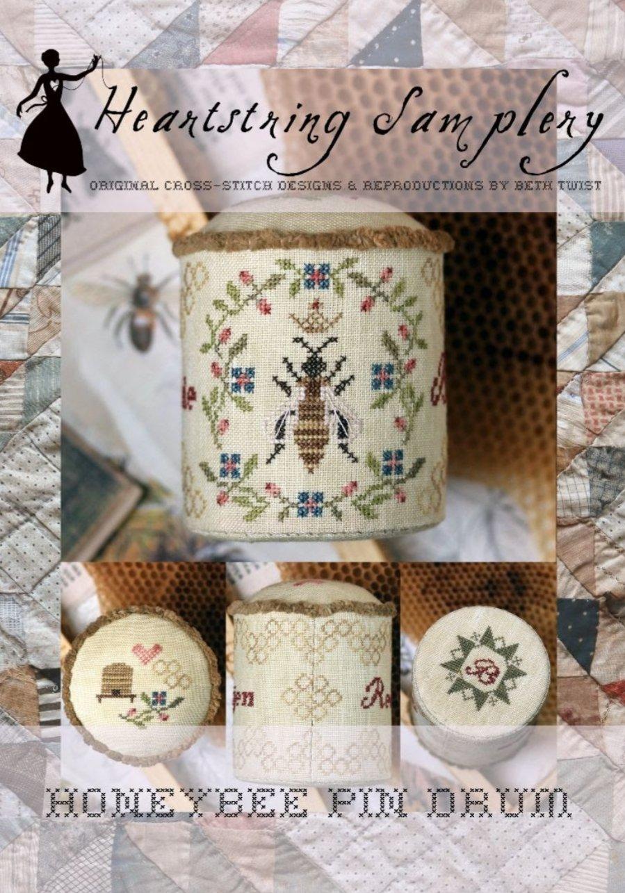 Heartstring Samplery - Honeybee Pin Drum