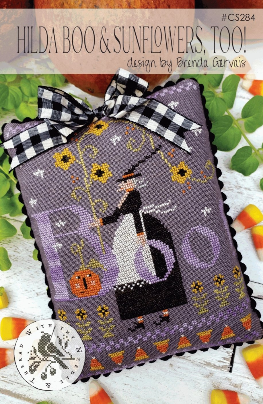 With Thy Needle and Thread - Hilda Boo & Sunflowers Too!