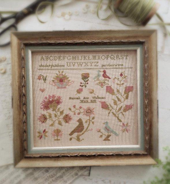 With Thy Needle and Thread - Hannah Ann Wallace 1850