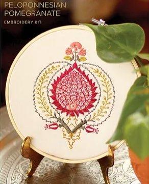 Avlea - Peloponnesian Pomegranate embroidery kit