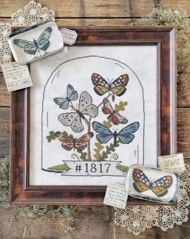 Hello From Liz Mathews - Butterfly Cloche