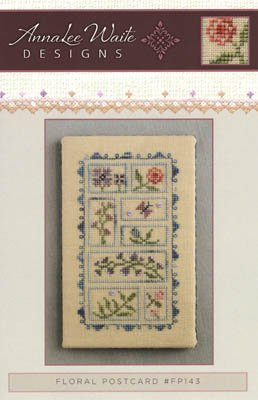 Annalee Waite Designs - Floral Postcard