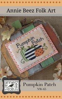 Annie Beez Folk Art - Pumpkin Patch