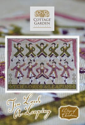 Cottage Garden Samplings - Ten Lords A Leaping