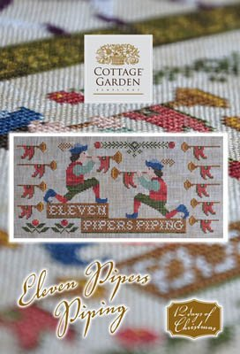 Cottage Garden Samplings - Eleven Pipers Piping
