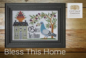 Cottage Garden Samplings - Bless This Home