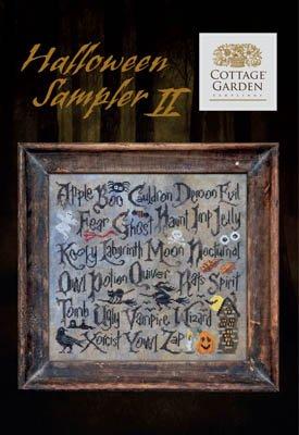Cottage Garden Samplings - Halloween Sampler II