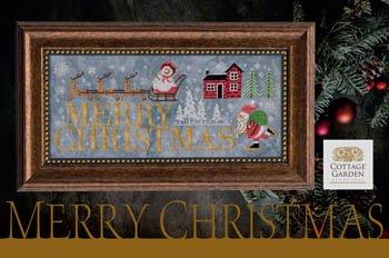 Cottage Garden - Merry Christmas