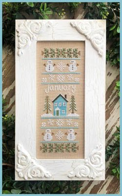 Country Cottage - Sampler of the Month - January
