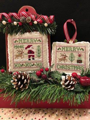 ScissorTail Designs - Santa And Rudolph
