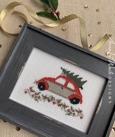 Annalee Waite Designs - Holiday Car