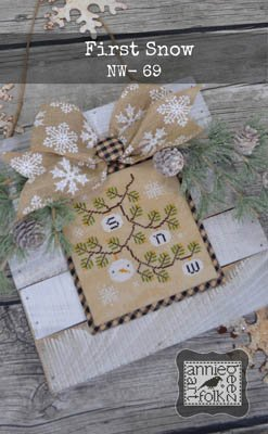 Annie Beez Folk Art - First Snow