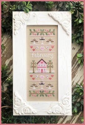 Country Cottage - Sampler of the Month - February
