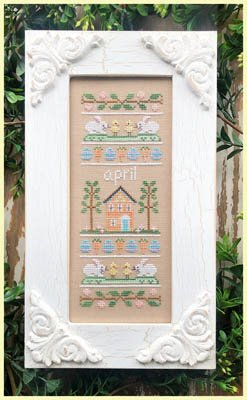 Country Cottage - Sampler of the Month - April