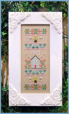 Country Cottage - Sampler of the Month - May