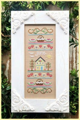 Country Cottage - Sampler of the Month - June