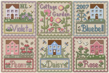 Country Cottage - Cottage Garden Chart Pack