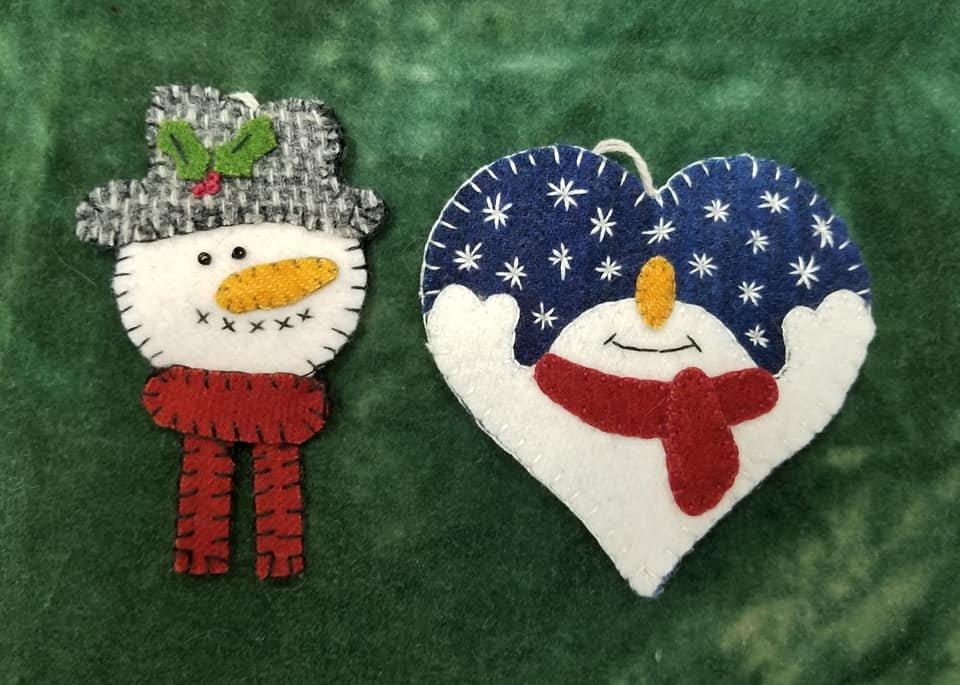 Caths - Snowman Keychain Ornament