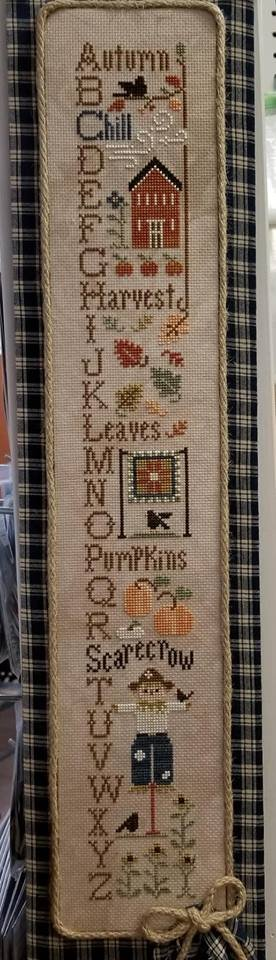 Little House - Autumn ABCs