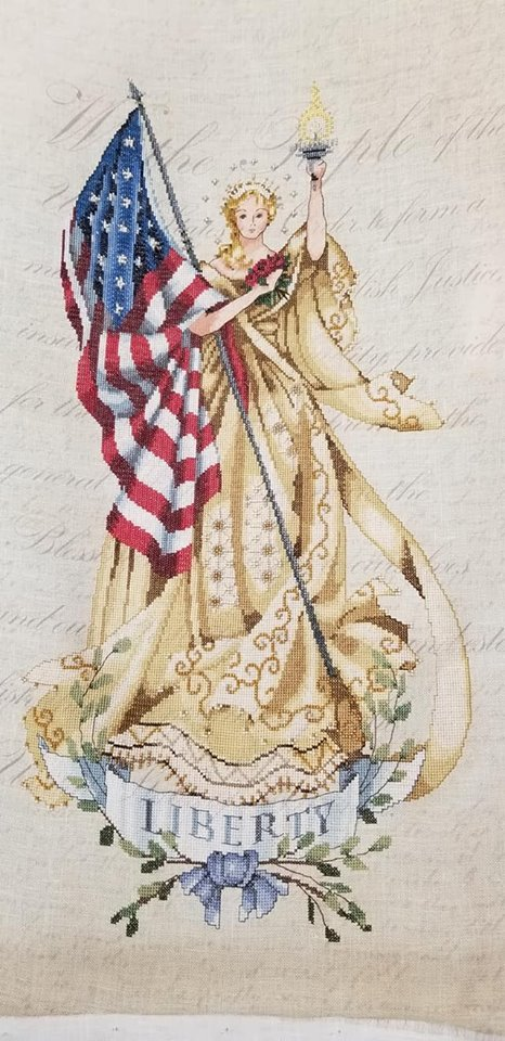 **RAFFLE TICKETS** Mirabilia's Lady of the Flag and Embellishment Pack