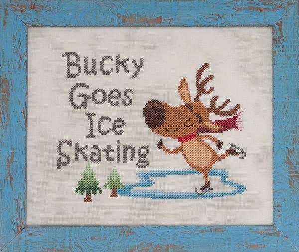 Glendon Place - Bucky Goes Ice Skating