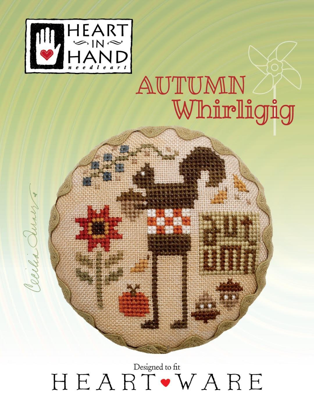 Heart in Hand - Autumn Whirligig