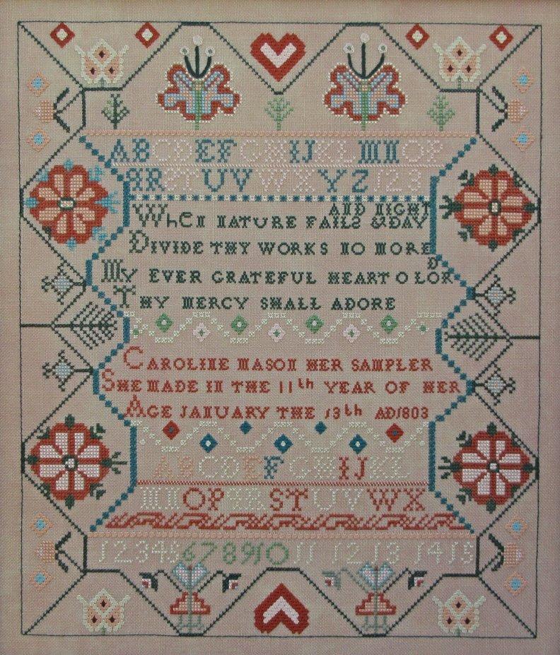 Queenstown Samplers - Caroline Mason 1803