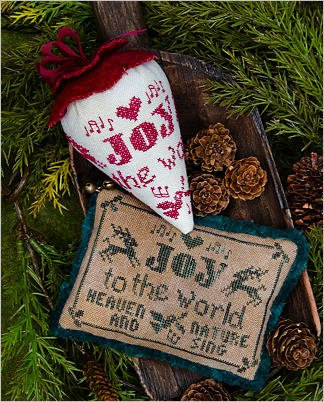 Erica Michaels - Joy to the World Caroling Berries