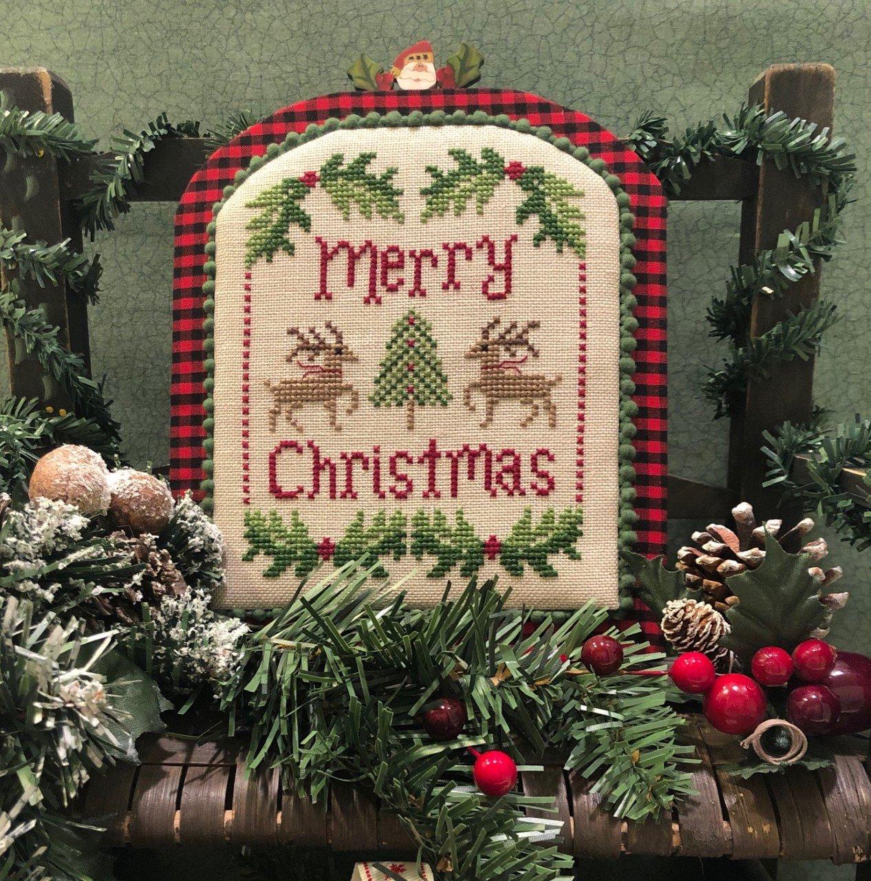 ScissorTail Designs - Merry Christmas Deer